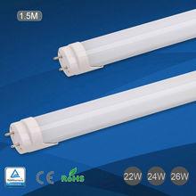 Hot sex 2014 t8 led tube factory supply CE, RoHS, TUV Approved 150cm 22w T8 LED Tube Light