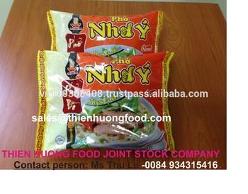 Beef flavour instant rice noodles 60gr- VI HUONG