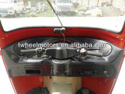Bajaj Tricycle with Center engine, tuk tuk bajaj, taxi motorcycle