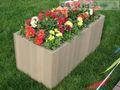 Compuesto plástico de madera caja de la flor con sgs, ce& certificado fsc