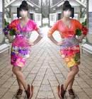 3516205u12120 Top Printed Sleeveless Sexy Party Fashion Women Dress
