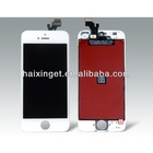 Original LCD black color for iphone5 with touch screen digitizer assembly replacement