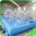 Gigante piscina inflável para a esfera da água, Personalizado inflável piscinas atacado