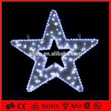 2014 Dongguan factory hot sell outdoor bright star christmas lights