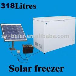 solar power deep freezer