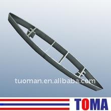 200mm aluminium wing louver slat