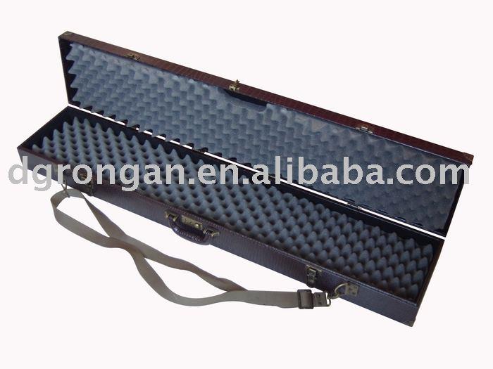 faux leather sporting gun case B08-014