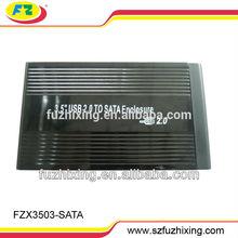 3.5 USB2.0 TO SATA External HDD Case Enclosure