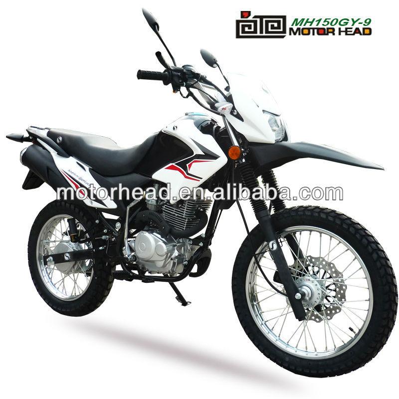 Híbrido motocicletas da bicicleta da sujeira MH150GY-9 150cc off road bike crossroad 150cc motocicleta