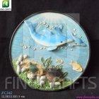 Resin dolphin tourist souvenir refrigerator mangnets
