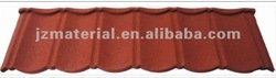 classic type stone coated steel roof tiles /colorful stone coated steel roof tiles