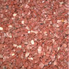 Natural red crushed and tumbled cobble stone