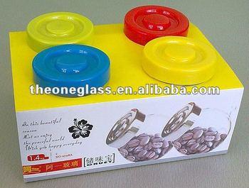 elegant glass cruet