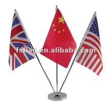 hang national flags, W-type office flagpoles