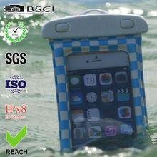 2015 universal mobile phone waterproof bag/ waterproof swimming bag/waterproof mobile phone bag for samsung