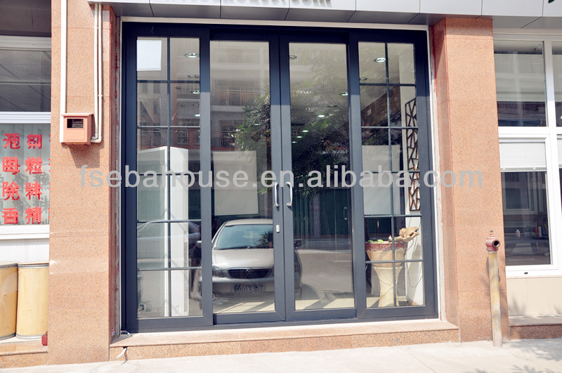 Home entrance door aluminium french doors prices - Porte coulissante aluminium ...