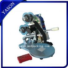 Manual Number Words Date Printing Machine for Bag & Paper & Film H008