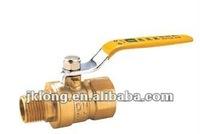 J2042 Brass Gas Ball Valve M/F