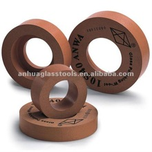 Classical High bright 130mm/150mm arris/edge rubber10S polishing wheels for glass and glass polishng