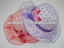 paper straw summer children hat