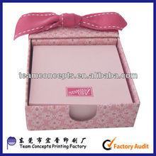 paper memo pad car holder