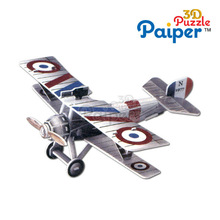3d diy paper puzzle plane model foam flying toy