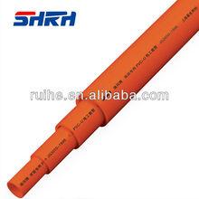 pvc electrical conduit,orange PVC conduit,flexible PVC conduit