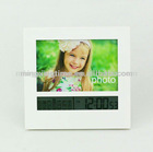any colors square table clock with alarm of mini model