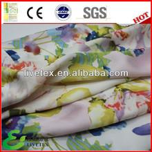 Poly Rayon womens dress fabric