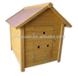 Waterproof wood dog kennel / wooden dog house