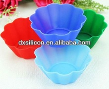 2013 New arrival silicone cupcake liners wholesale, cupcake hot sale