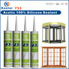acetic cure silicone sealant, acetic silicone sealant,acid silicone sealant