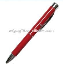OEM Customized electron Gift Pen---Good Quality Metal Laser Logo Projector Pen