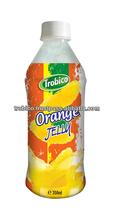 350 ml Pet garrafa de suco de fruta laranja