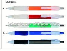 plastic ball pen with mechanical pencil LU-M2205