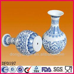 New design customized logo ceramic vase