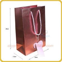 High quality custom wax paper bags food wholesale