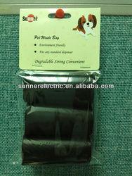 Dog Waste Bag 3refill rolls with header card