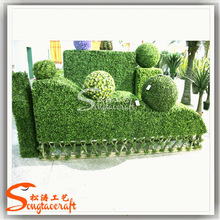 Green garden with artificial turf grass/fibers grass shop street decoration artificial grass