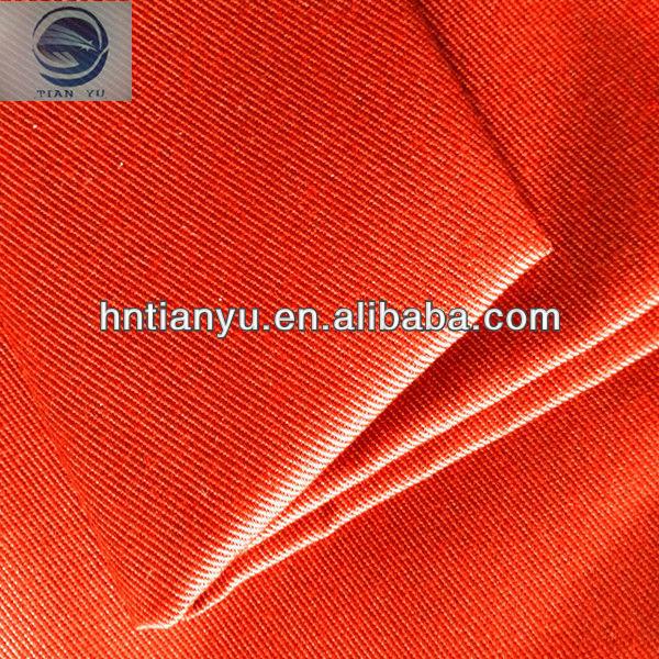 Buona qualità di grasso resistente uniforme/abiti da lavoro in twill di cotone tessuto