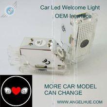 Hotsales!Top quality car led logo for Hyundai led laser light