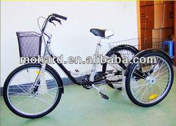 white cargo three wheel tricycle MH-032