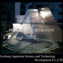 Super Large Acrylic Fish Tank in Oceanarium
