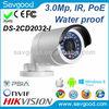 Hikvision 3MP IR Mini Bullet Network Camera DS-2CD2032-I