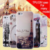 For iphone5 5s 5g TPU DIY case for iphone5s city design case for iphone 5