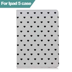 For Love cover For ipad 2 3 4 5 air fashion Pu leather ipad cover case