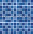 Material decorativo cristalino del patrón de mosaico