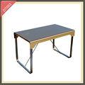 mesa de jantar de luxo mobília da sala de mesas e cadeiras para eventos dt003