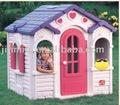 Casa de plástico casa de juegos casa de juguete