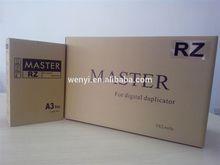 Riso RZ/EZ/MZ 370/570/970 Digital Duplicator Master - Riso RZ/EZ/MZ A3 master - Riso S-2632 Master - Riso S-7609 Master stencil